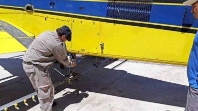 Photo of MONTE MAIZ.Clausuraron una avioneta pulverizadora
