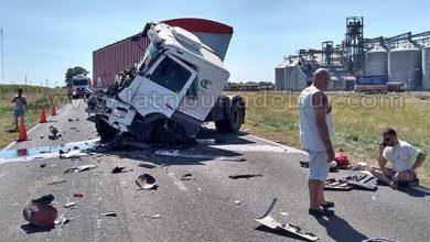 Photo of Un camión de Mackenna chocó a otro cerca de Rufino