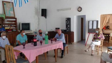 Photo of Marcos Carazo intendente de Gral Cabrera.VISITO CAMILO ALDAO