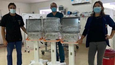 Photo of Tres nuevos respiradores para el Hospital Abel Ayerza