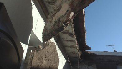 Photo of Se cayó el techo de una vivienda