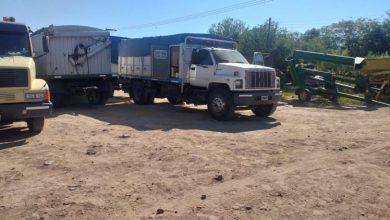 Photo of Robaron a 5 camiones en la playa de estacionamiento de la estación SL