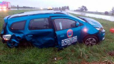 Photo of La intendente de Monte Leña se accidentó en la autopista