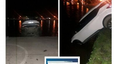 Photo of Una camioneta se cayó a la vera del río Ctalamochita