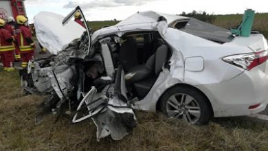 Photo of Grave accidente en ruta 35 cerca de Malena: siete heridos