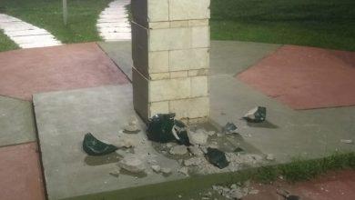Photo of MONTE BUEY.Un menor de 13 años dañó un monumento en la Plaza Perón