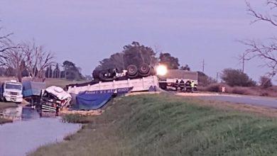 Photo of Accidente Múltiple En Ruta 6 Entre Monte Buey Y Posse