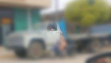 Photo of Desnuda recorrió las calles del pueblo