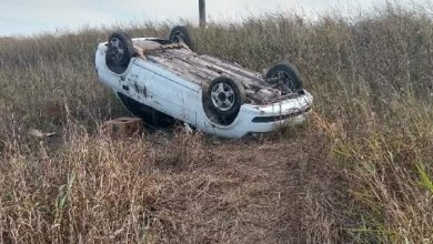 Photo of Inriville: Accidente Automovilístico En Solitario