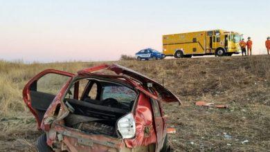 Photo of Bell Ville: Un automóvil perdió el control con 3 ocupantes a bordo